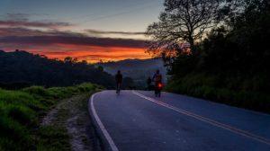Vélo de route bikepacking